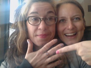 I am the 32nd woman who's experienced gender-based violence to wear this ring, and I will be the 32nd to pass it along.
