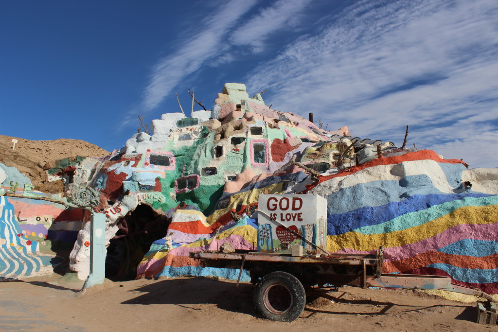Salvation Mountain, Niland CA!